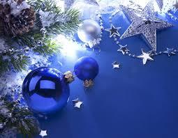 tree balls silver blue white hd wallpaper