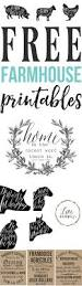 free farmhouse printables for your home mountains cricut and