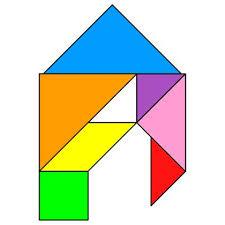 tangram puzzle 259 best tangram images on puzzles montessori and school