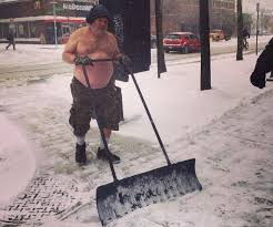 Shoveling Snow Meme - the massachusetts transit police just tweeted this photo of a man