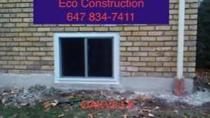 Enlarging Basement Windows by Egress Window Services In Oshawa Durham Region Kijiji