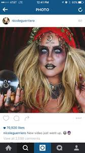 Good Makeup Ideas For Halloween by Best 20 Voodoo Makeup Ideas On Pinterest U2014no Signup Required