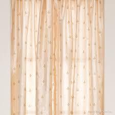 Fleur De Lis Curtains Fleur De Lis Curtain Panels Set Of 2