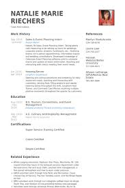 Volunteer Work On Resume Example by Event Planning Resume Samples Visualcv Resume Samples Database
