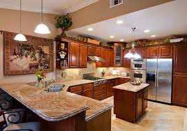 attractive popular kitchen paint colors with cherry cabinets ideas