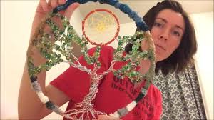 making the tree of life dreamcatcher youtube