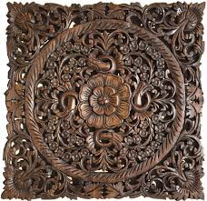 carved wood wall plaques wall sculptures asiana