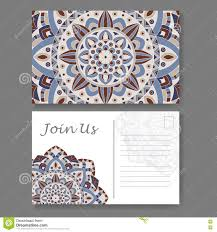 Corporate Invitation Card Template For Business Invitation Card Postcard Background With
