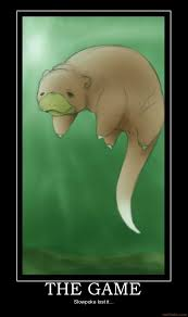 The Game Meme - demotivational poster the game slowpoke lost it