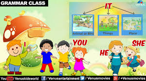 i you he she it english grammar for kids youtube