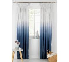 Grey Ombre Curtains Buy Home Ombre Unlined Pencil Pleat Curtains 117x183 Midnight At