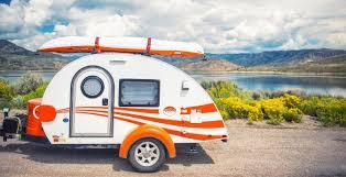 Teardrop Camper With Bathroom Boomers Behind Teardrop Trailer Sales Camping And Rving Aarp