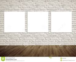 modern art gallery empty picture on the wall royalty free stock