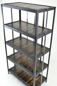 Industrial Metal Bookshelf 197 Best Bookshelves Images On Pinterest Industrial Furniture