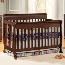 Palisades Convertible Crib by Sleigh Bed Crib Cribs Decoration