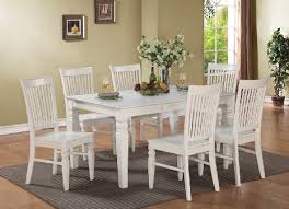 White Wooden Dining Table And Chairs Extending Dining Table Chairs Extendable Dining Sets Decoration In