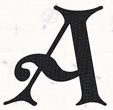 alphabet templates free printable alphabet letters koster font