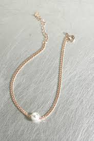 rose gold pearl bracelet images Swarovski pearl rose gold chain bracelet sterling silver jpg