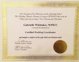Wedding Planner Certification Enza Velocci Professional Profile