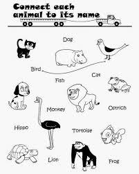 animal worksheets for kindergarten worksheets
