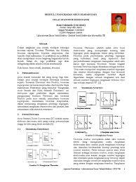 cara membuat laporan praktikum elektronika laporan praktikum el2101 modul ke 2 13214033