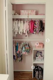 minimalist bedroom with kids closet storage systems design 2