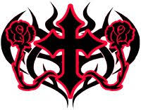 filigree gothic filigree gothic cross tattoo mociarane com