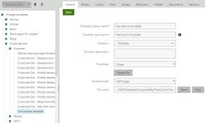 creating a simple aspx page template kentico 8 1 tutorial