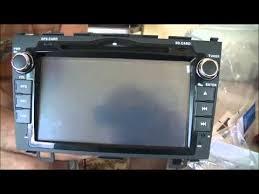 installing dashboard gps and dvd system on 2007 honda cr v youtube