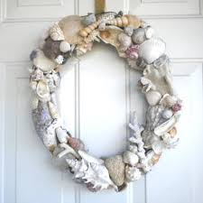 diy grapevine wreaths with seashells easy to make completely