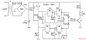 doorbell circuit page other circuits next gr ding dong electronic