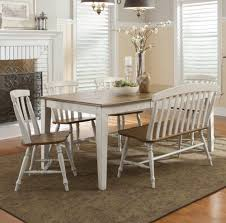 dining room table with bench and chairs dining room table bench with back alliancemv com