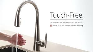 touchless kitchen faucet reviews enchanting best touchless kitchen faucet for medium size of brand