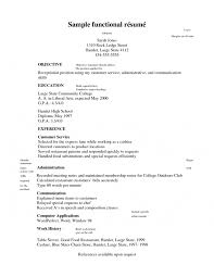 Resume Examples For Kids by Sample Resume Objective For Customer Service Statement