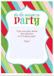 christmas party invitations free christmas party invitations theruntime