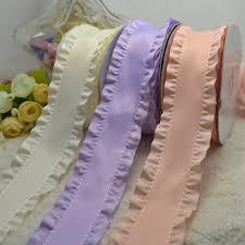 ruffle ribbon 1 5 38mm ruffle ribbon hair bow accessory diy handmade