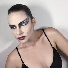 black swan halloween makeup quick black swan makeup tutorial youtube