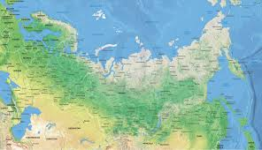 Map Russia Vector Map Of Russia Political One Stop Map