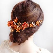 bridal hair pieces whimsical flower hair for weddings bridal hairpieces