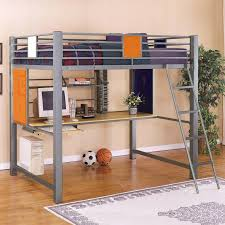 Bedroom Wall Unit With Desk Bedroom Loft Bed Design Idea With Storage Unit And Desk For