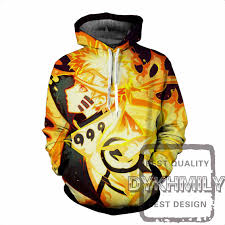 naruto style 3d print uzmaki naruto mens hoodies and sweatshirts
