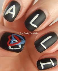chalkboard nail art 2 u2013 the daily varnish