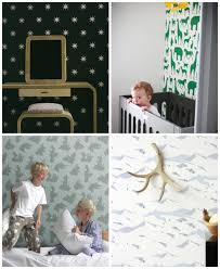 Wallpaper For Kids Room 21 Wallpapers For Kids U0027 Rooms Hither U0026 Thither