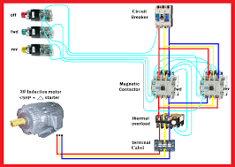 motor forward reverse wiring diagram elec eng world control