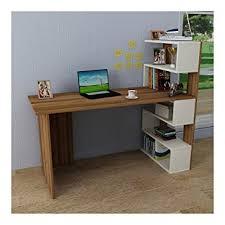 modern bureau deluxe bureau white walnut computer workstation home office