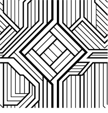 free printable geometric coloring pages for adults within free