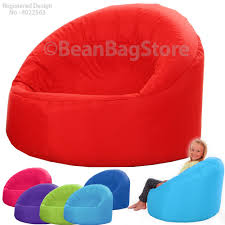 childrens beanbag cup chair kids seat teen indoor outdoor bean bag