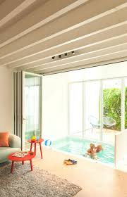 an existing home u0026 modern addition become one indoor swimming
