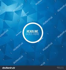 Futuristic Design by Futuristic Design Background Triangle Brochure Design Stock Vector