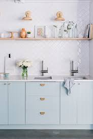 ikea kitchen cabinet filler panels the easiest way to make ikea cabinets look high end blue